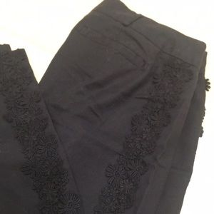 Anthropologie Elevenses cropped pants